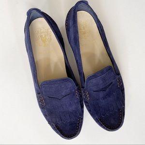 Cole Haan Navy Blue Pinch Grand Kiltie Loafer